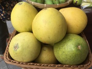 圖/中秋節期間會舉辦親子同樂的手繪柚子活動,將成品上傳fb打卡可以獲得花博便當袋乙個